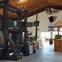 Old wine press