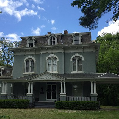 The front of the Pettengill Morron House Museum taken this past May.