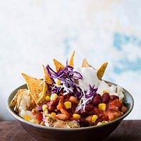Chilli Bean & Salsa Spud