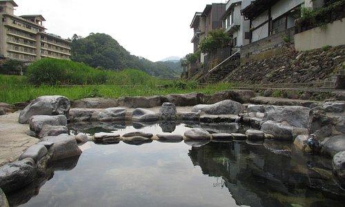 三朝温泉・河原風呂 ^0^
