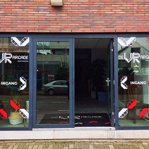 De VR Arcade Amsterdam (entree)