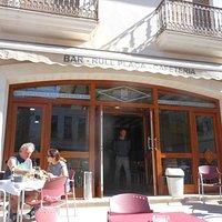 Cafe Bar Rull Placa