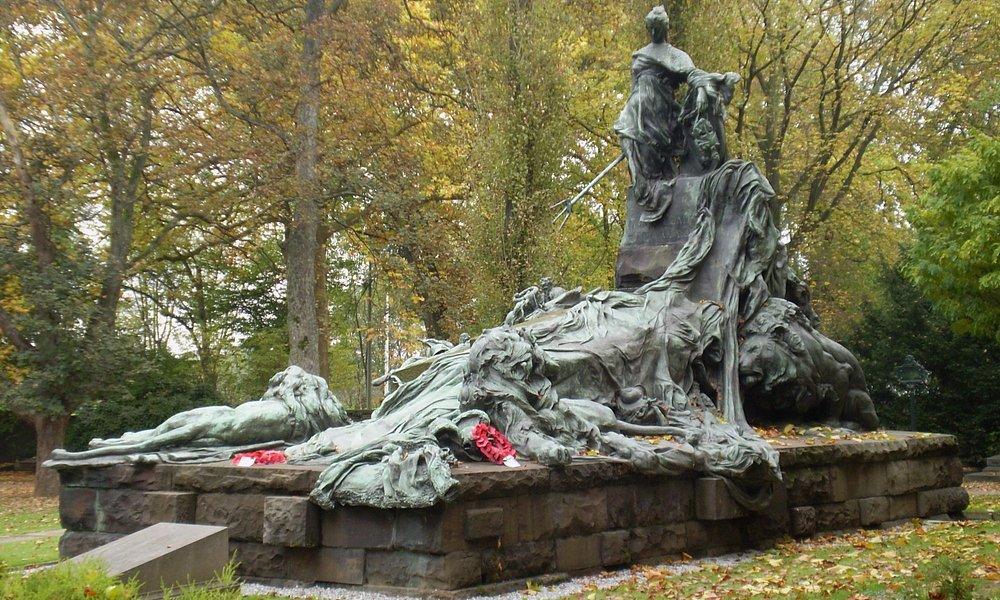 Mémorial Anglais de Waterloo cimetière de la ville de Bruxelles