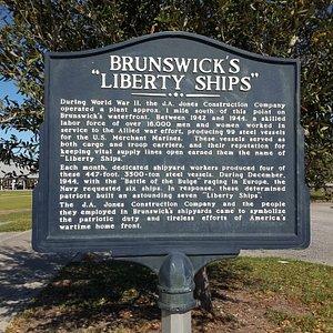 Brunswick's Liberty Ships Monument