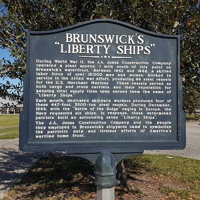 Brunswick's Liberty Ships Monument