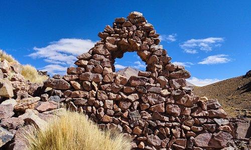 Ruine Inca sur le chemin entre Tupiza et el salar
