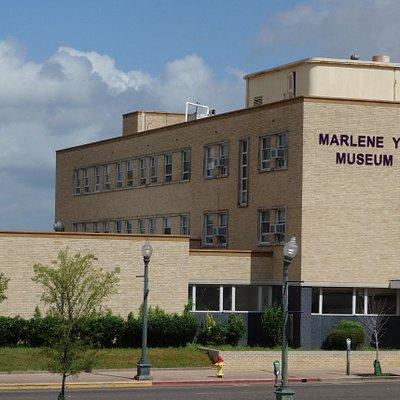 Marlene Yu Museum building in downtown Shreveport