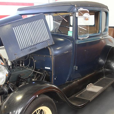 Model A Ford - about the oldest car in this collection