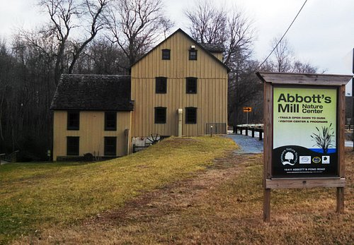 Mill and entrance sign