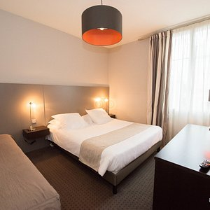 The Triple Room at the Hotel Ronsard