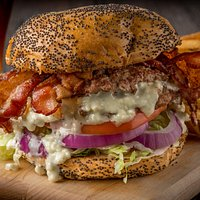 Bacon Bleu Cheese Burger