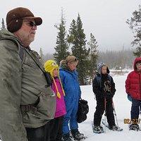 Children's Exploration Snowshoe Day
