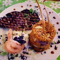 Flavorful ribeye with tasty mamposteado