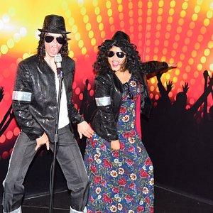 we do the moon walk Michael Jackson style
