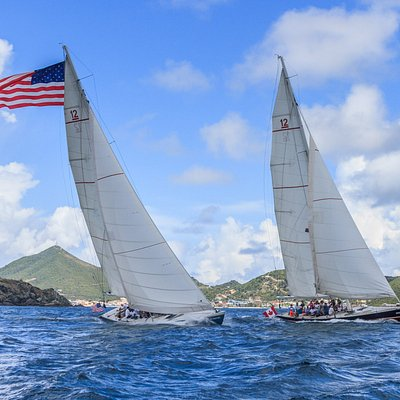 Which boat is Stars & Stripes?