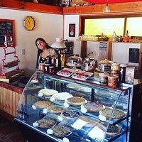 Pasteleria casera y cafe de grano