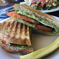 The FCC paninis are pretty to look at and are absolutely delectable.