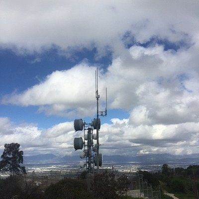 Active micro-wave tower