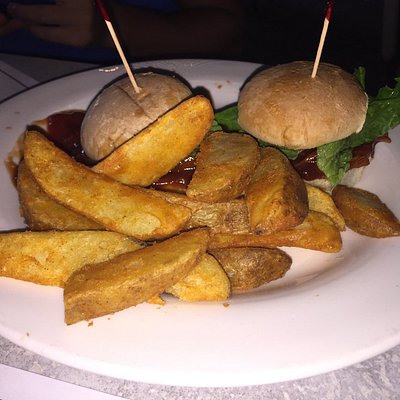 Sliders and Home Fries