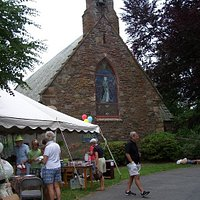 The chapel is home to a terrific Garden party each June.