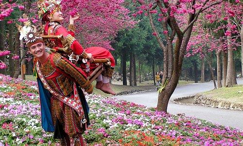 九族文化村有台灣原民文化,讓你探索不同的領域。