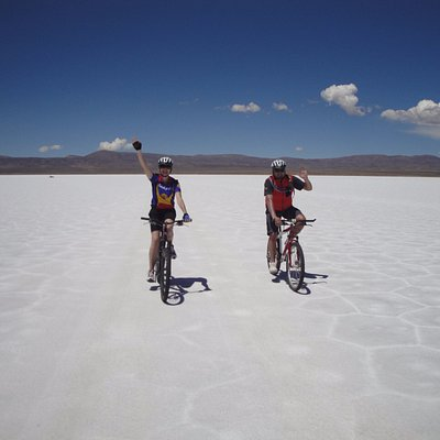 Biking the Salinas Grandes