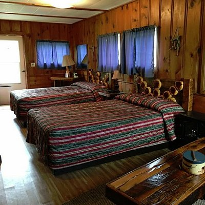 Affordable, individual one and two room cabins!