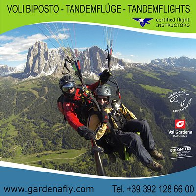 Tandemflying Gardenafly with certified Flying Instructors, Summer and Winter!