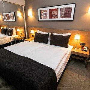 The One Bedroom King Apartment at the Adina Apartment Hotel Hamburg Michel