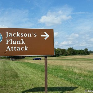 One of the signs you will see from Highway 3 or Plank road.