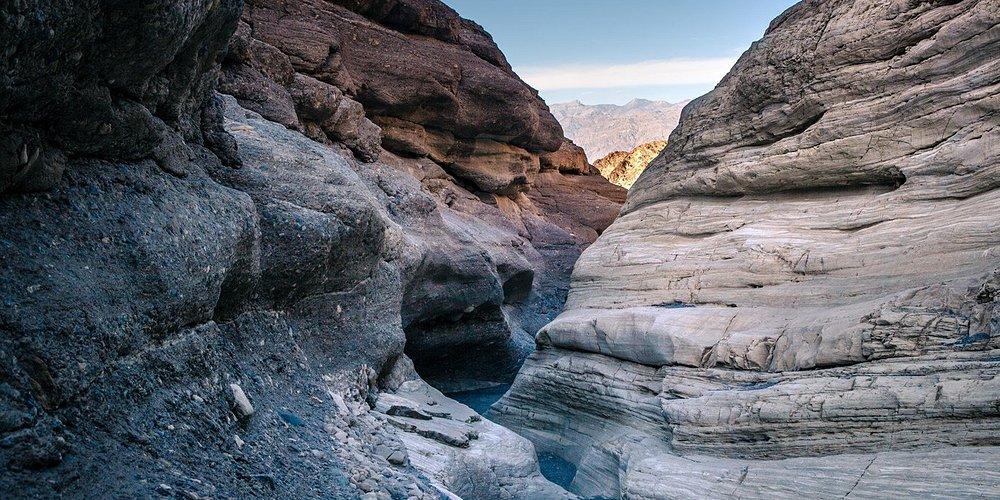 Slot Canyon in Mojave Desert