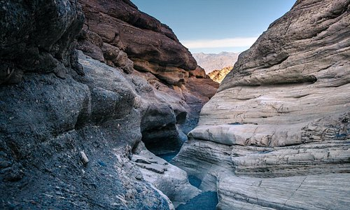 Slot Canyon in Mojave Desert