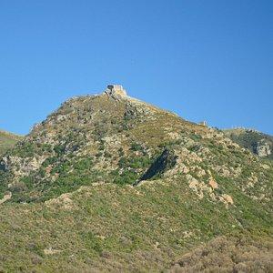 Volterraio from Bagnaia
