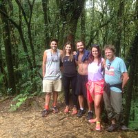 Hiking at La Tigra cloud forest National Park