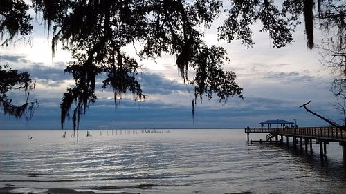 Mobile Bay across from Barons