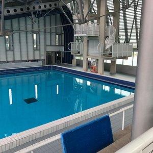 Villejuif (94 - Val-de-Marne, France) - Stade nautique Youri Gagarine - Fosse à plongeon