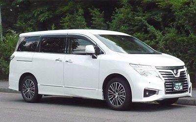 mini van for 7 passengers
