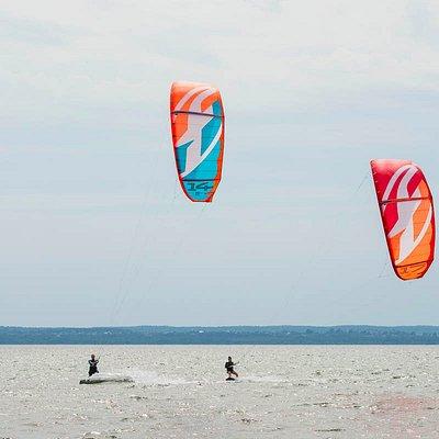 Плещеево озеро, кайт школа KiteClass (июнь 2016)