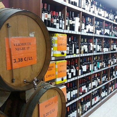 Denominaciones de Origen de todo el panorama vitivinícola español.