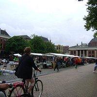 Vismarkt, Groningen, Holanda.