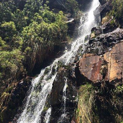 La Zarza sendero ecológico Duitama : La Cascada