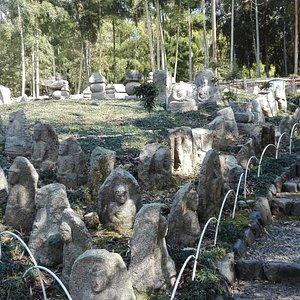 洛西竹林公園にて