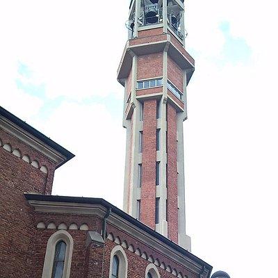 Seregno (MB) Santuario di S. Valeria - Una vista del campanile