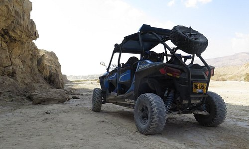 Motor ADVENTURE in the Dead Sea with Wild-Trails!!!
