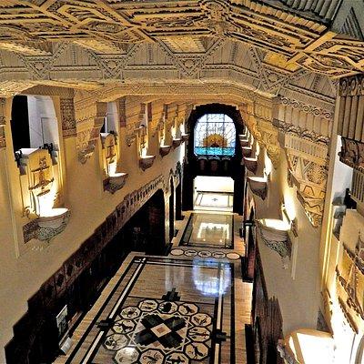second floor view
