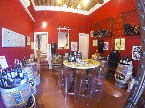 Front of Wine School in Siena