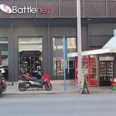 Store exterior