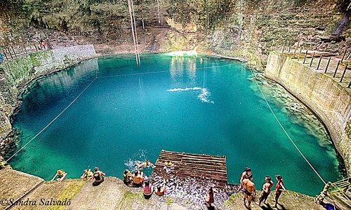 beautiful cenote, come and have fun with us, enjoy this little piece of mayan sacred ground