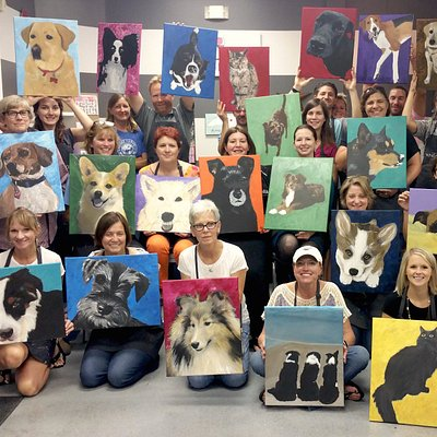 YES! You can paint YOUR pet!! Send in a photo of your pet and we will teach you all the tricks!