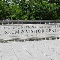 Gettysburg National Military Park Sign